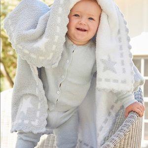 Barefoot Dreams Baby Airplane Receiving Blanket